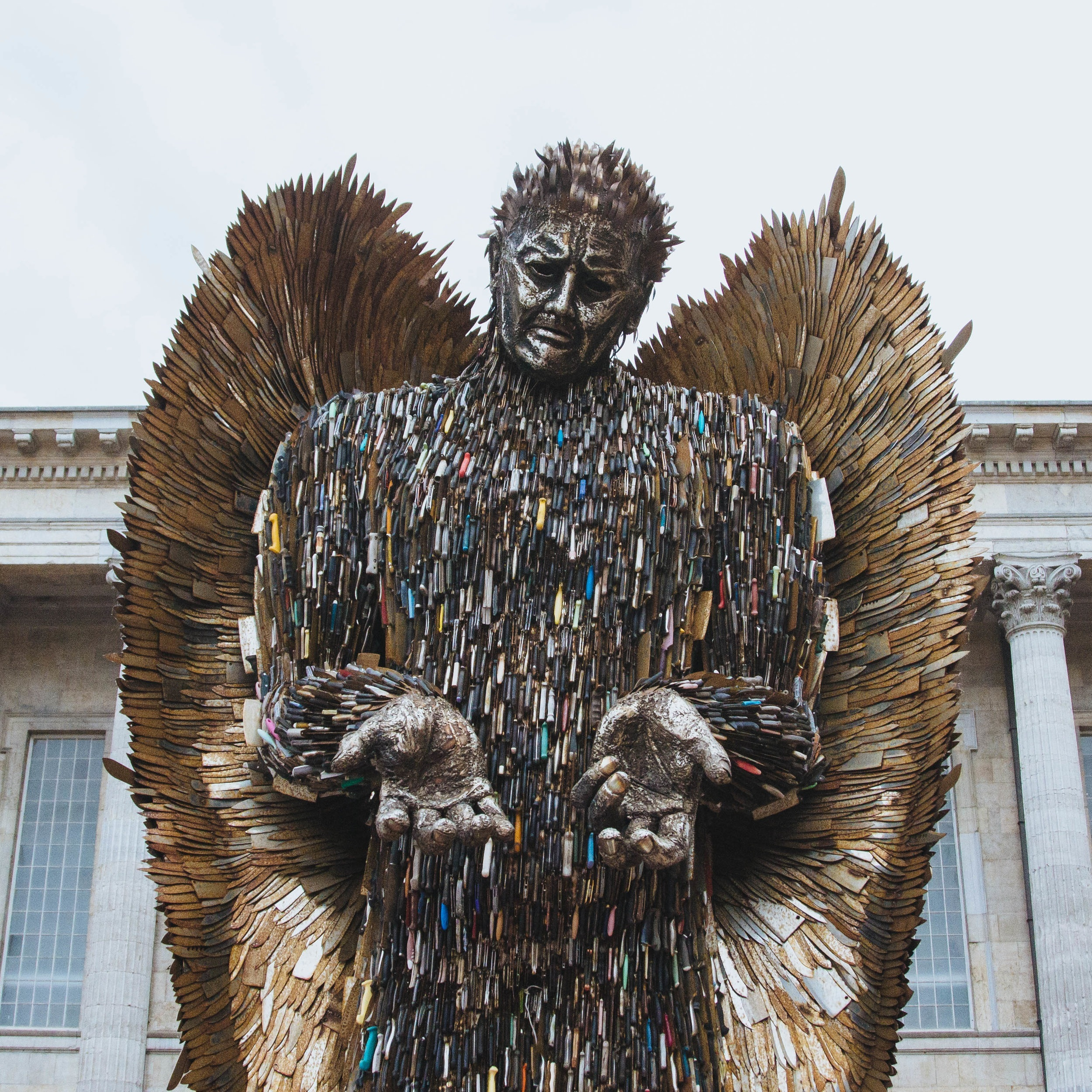 The Knife Angel by Alfie Bradley