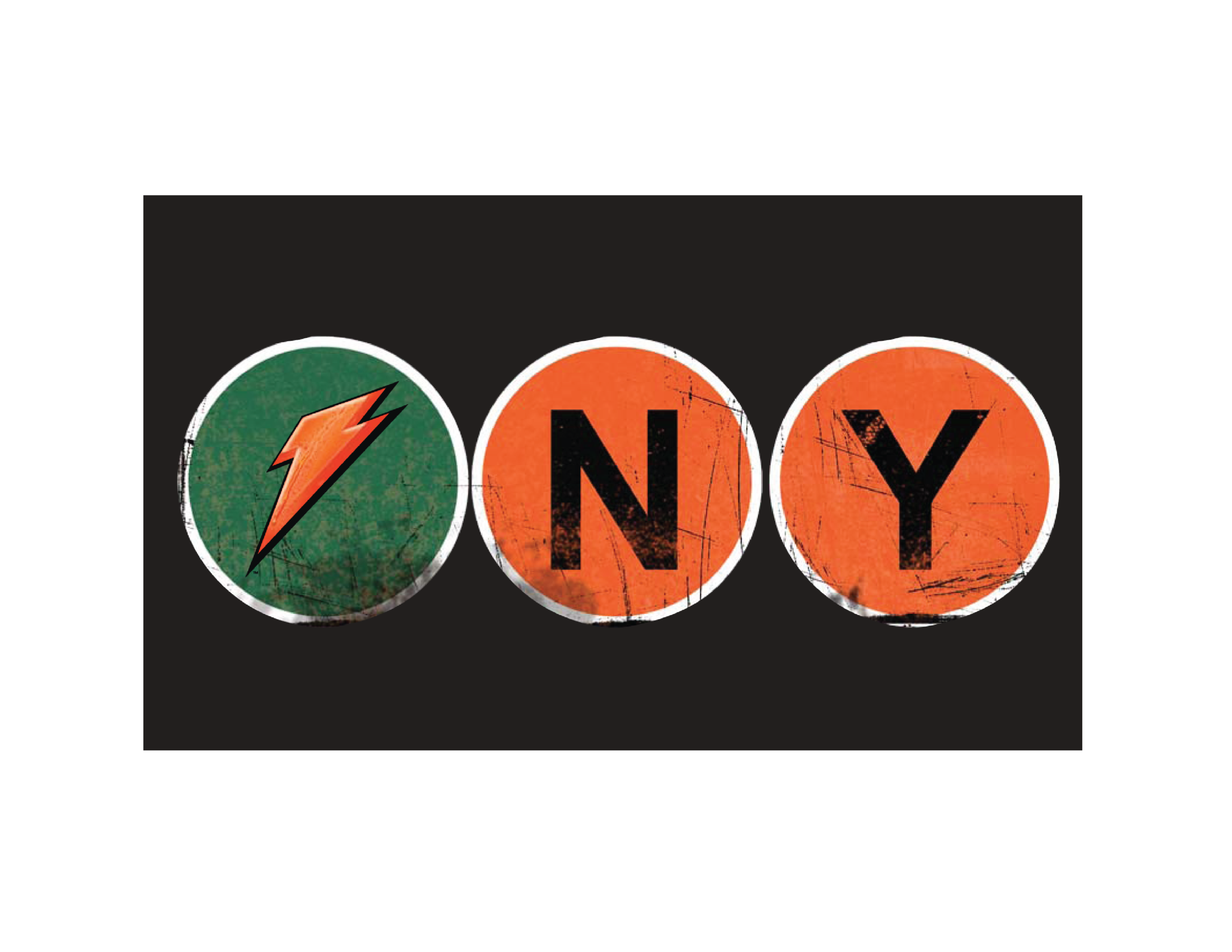GATORADE DUANE READE NYC MARATHON PROGRAM LOGO