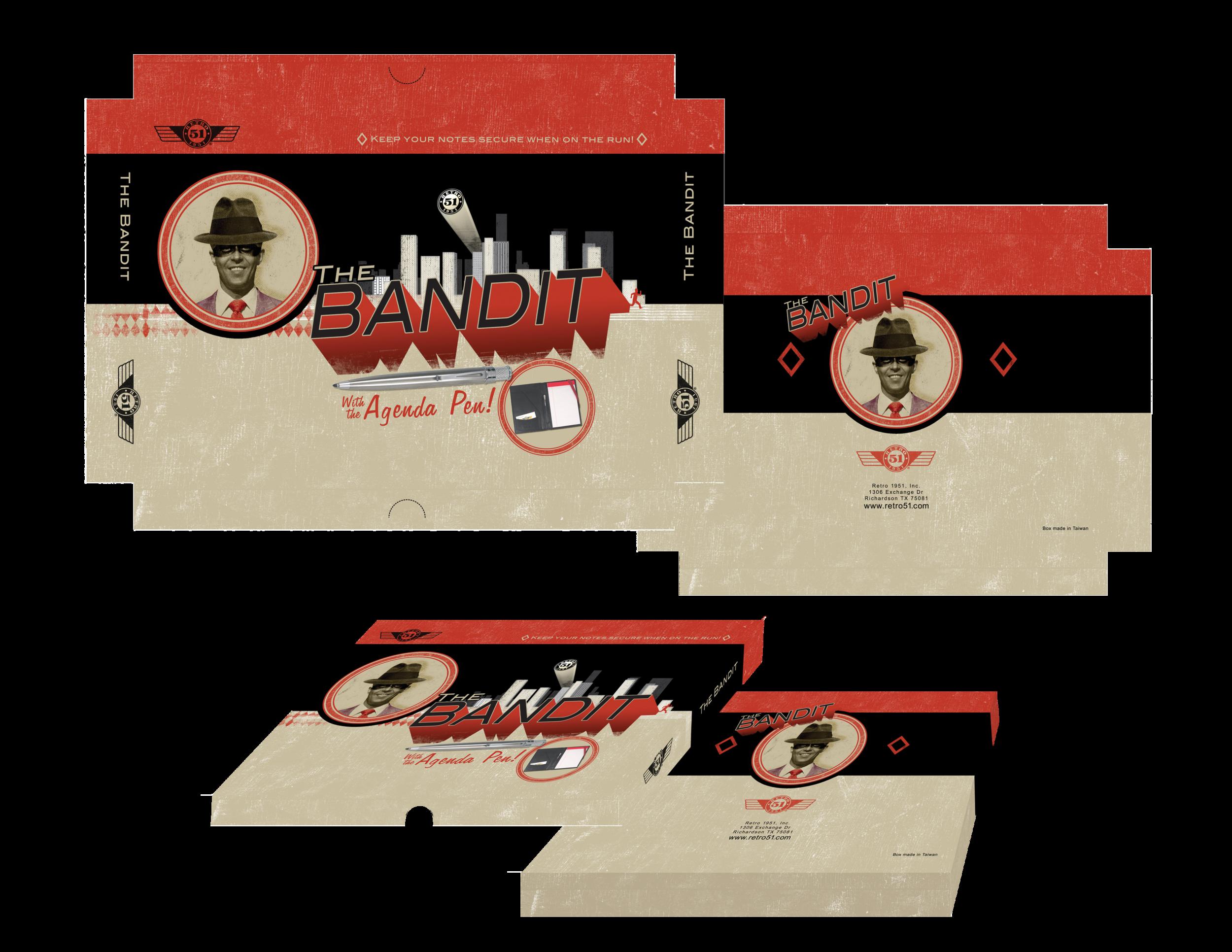 RETRO 1951 BANDIT LEATHER PLANNER
