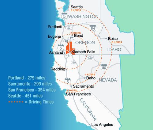 Regional Map -ChooseKlamath.com