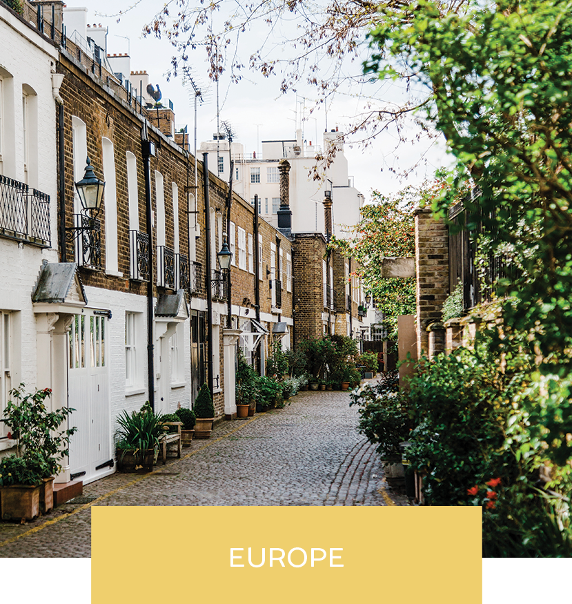 SD Consulting || Be Inspired, Vacations to Europe