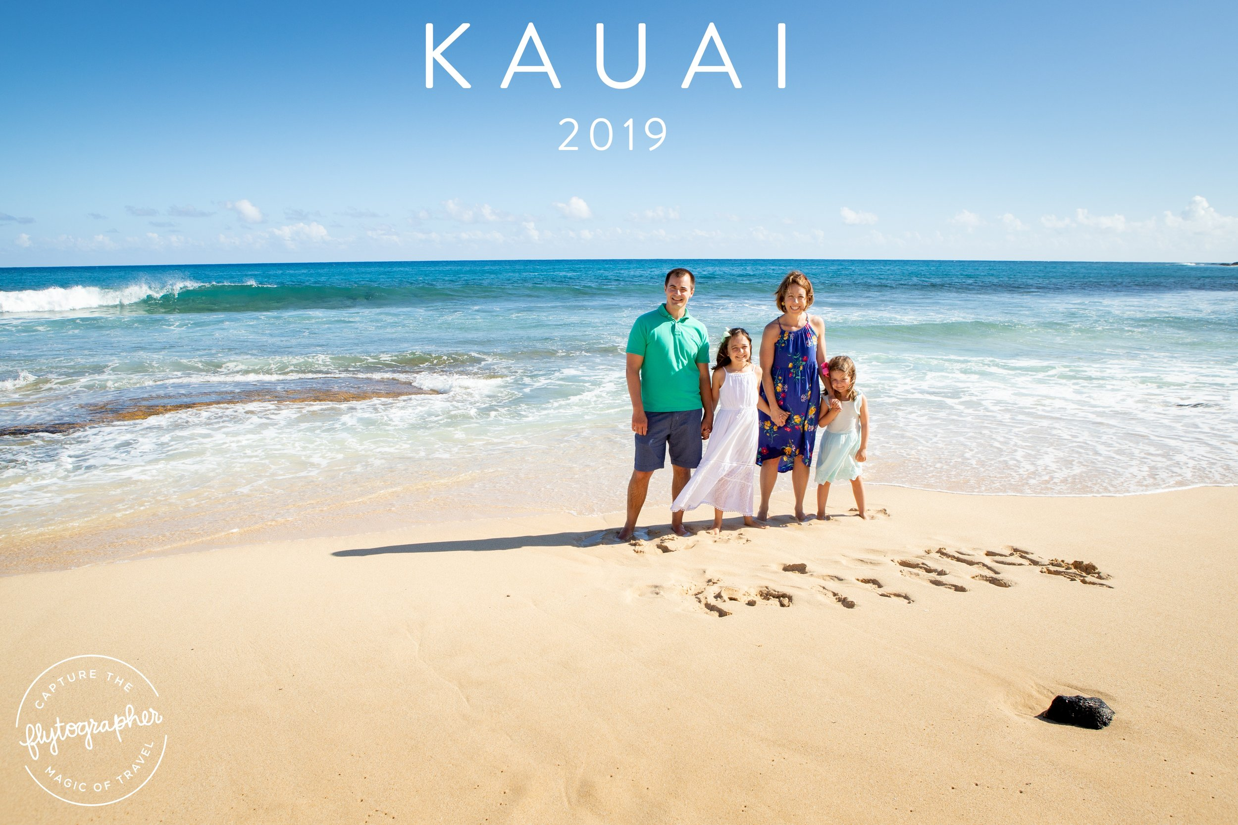 One of my favorite experiences was doing family pictures while in Kauai! Pictures to last a lifetime! We loved using Flytographer.