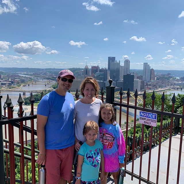 View from the Incline in Pittsburg, PA