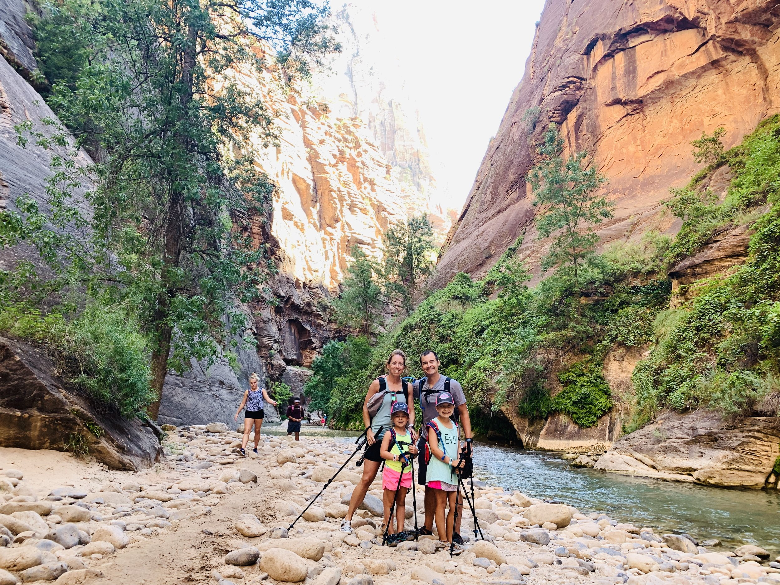 Favorite hike - The Narrows in Zion National Park