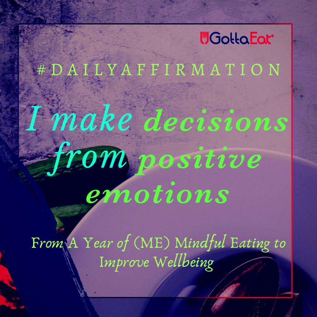 I make decisions...