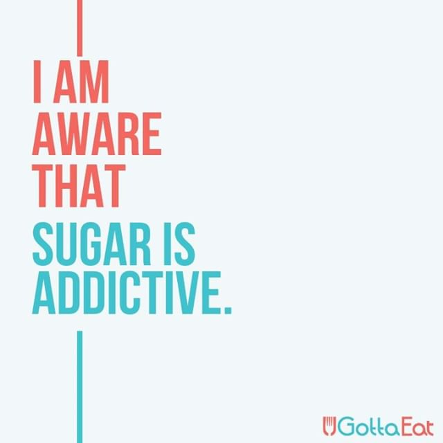 Sugar chemically produces endorphins. In that sense, it's like a drug; it produces endorphins in the brain that give you the feeling of satisfaction and a need for more. Like anything addictive, sugar is a craving. Know what you're putting in your body and how your body reacts to it. Know when to say no.  #instaquote #quote #wellness #mindfulness #mindfuleating #wellbeing #foodblogger #fitness #eatclean #eatright #lovefood #healthy #motivation #success #blog #success #mindfulness #mindfuleating #wellbeing #instafit #foodforthought #feedfeed #eatright #diet #organic #realfood