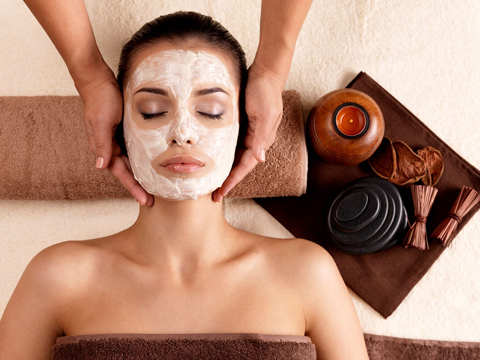 Facials - Click here for A LIST OF facial services