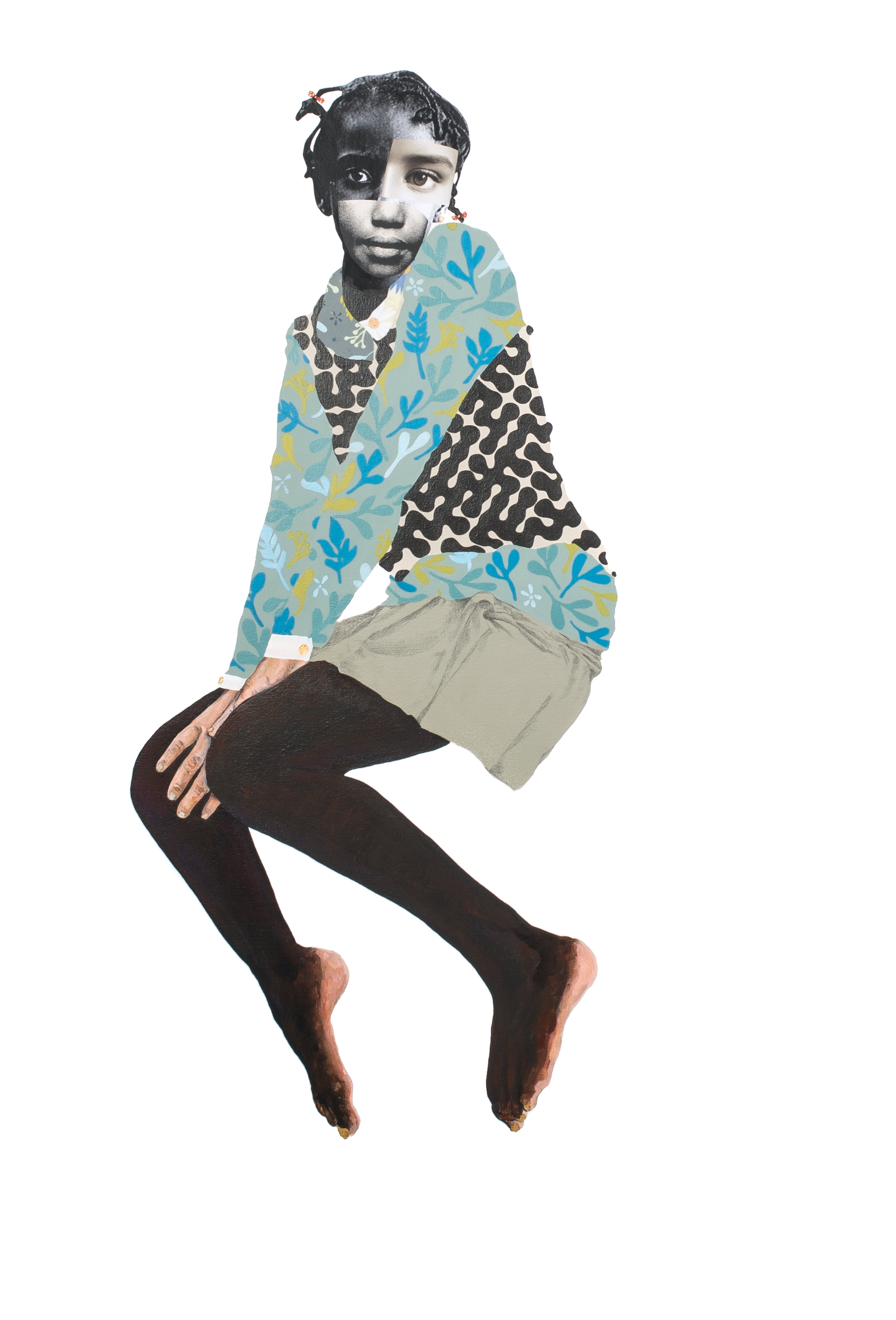 - Deborah Roberts (b. 1962, Austin, Texas) is a mixed media artist whose work challenges the notion of ideal beauty. Her work has been exhibited internationally across the U.S. and Europe. Roberts' work is in the collections of Whitney Museum of American Art, Brooklyn Museum, The Studio Museum in Harlem, LACMA, Block Museum of Art, Blanton Museum of Art, Spelman College Museum of Fine Art, Montclair Art Museum, and The Frances Young Tang Teaching Museum and Art Gallery. Roberts is the recipient of the Pollock-Krasner Foundation Grant (2016) and Ginsburg-Klaus Award Fellowship (2014). She received her MFA from Syracuse University, New York. She lives and works in Austin, Texas. Roberts is represented by Stephen Friedman Gallery, London.Image: My body, your rules, 2018. Mixed media collage on canvas.