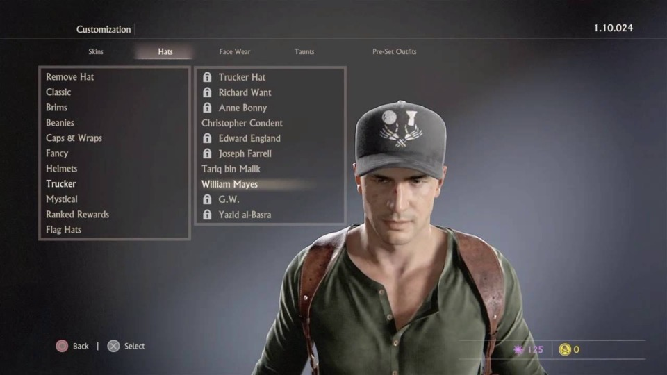So many subcategories just for hats.