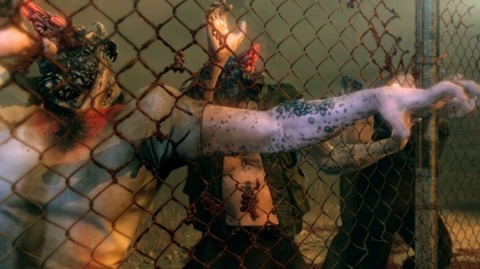 Poking zombies through a fence felt oddly realistic and pretty fun.