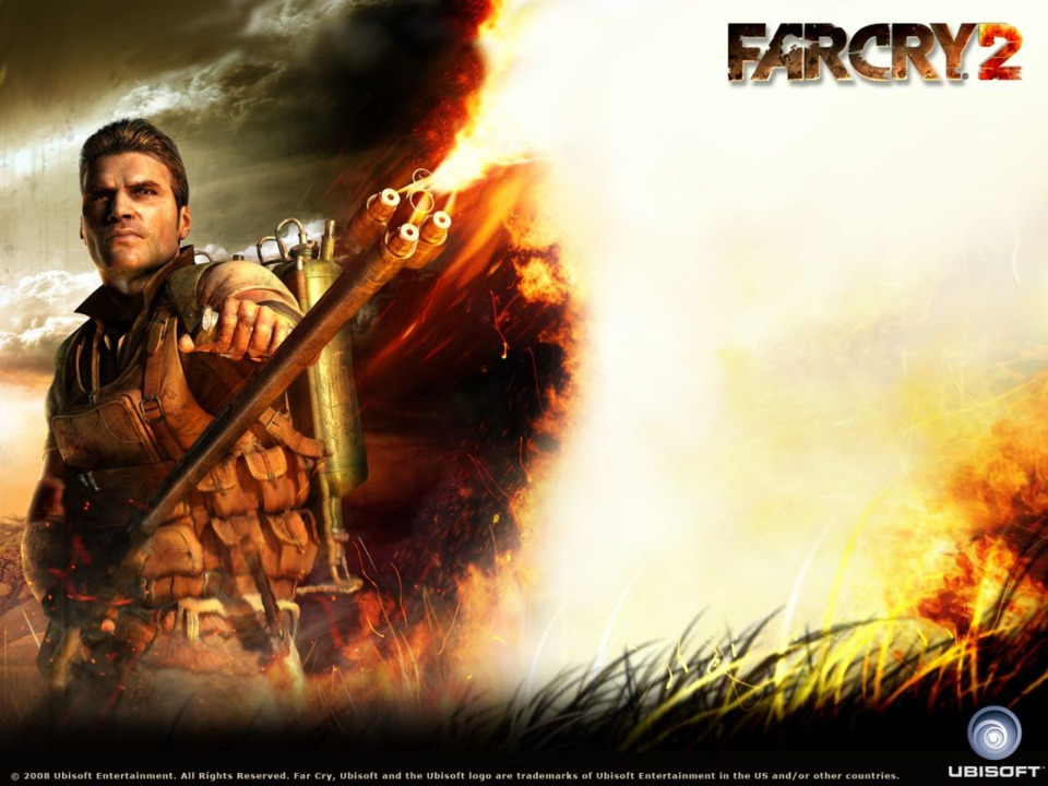 Me, trying to purge my thoughts of Far Cry 2. Unfortunately, just like in the game, the flame only lasts temporarily.