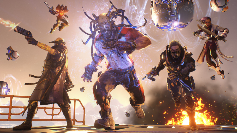 I love the Lawbreakers characters. The guy in the middle is uh....ummmmm.
