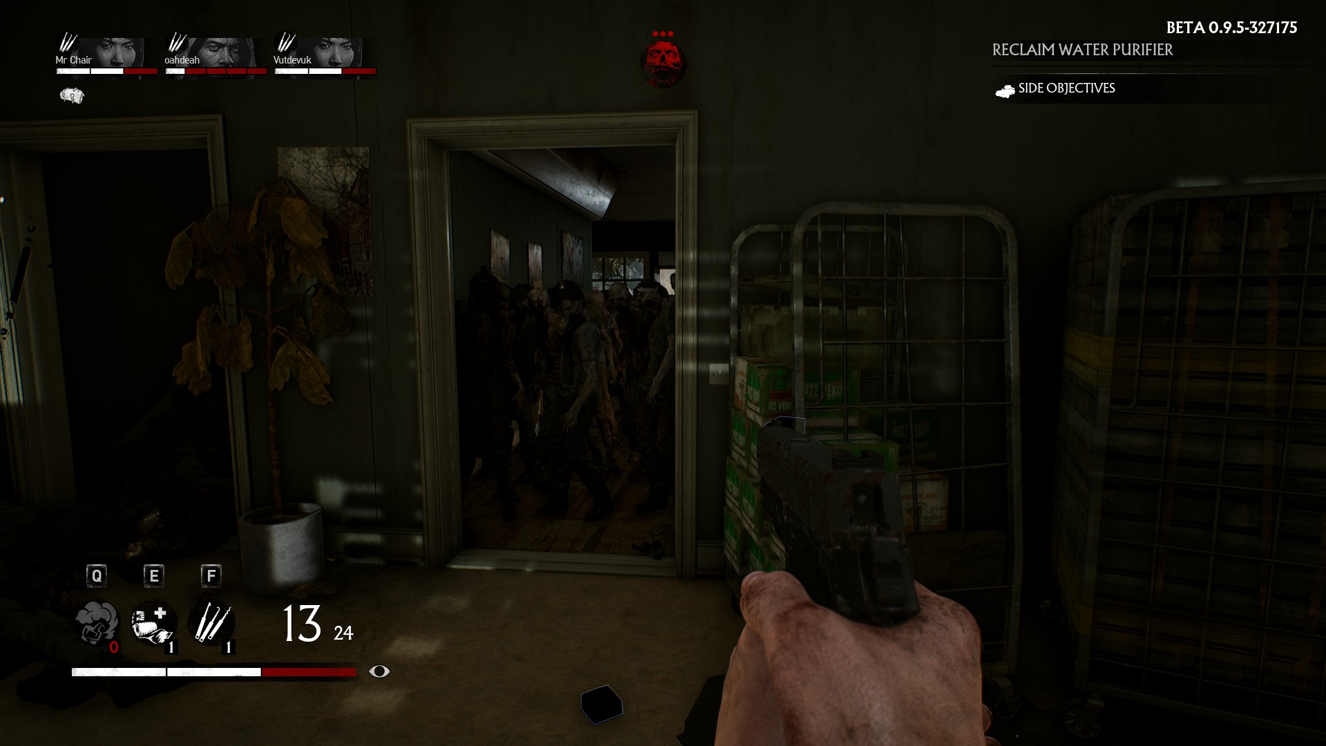 Zombies are no joke in this game.