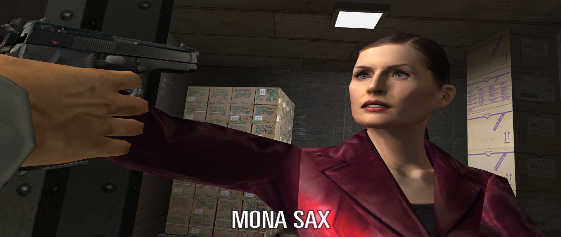 Mona, the character to join Max by his side.
