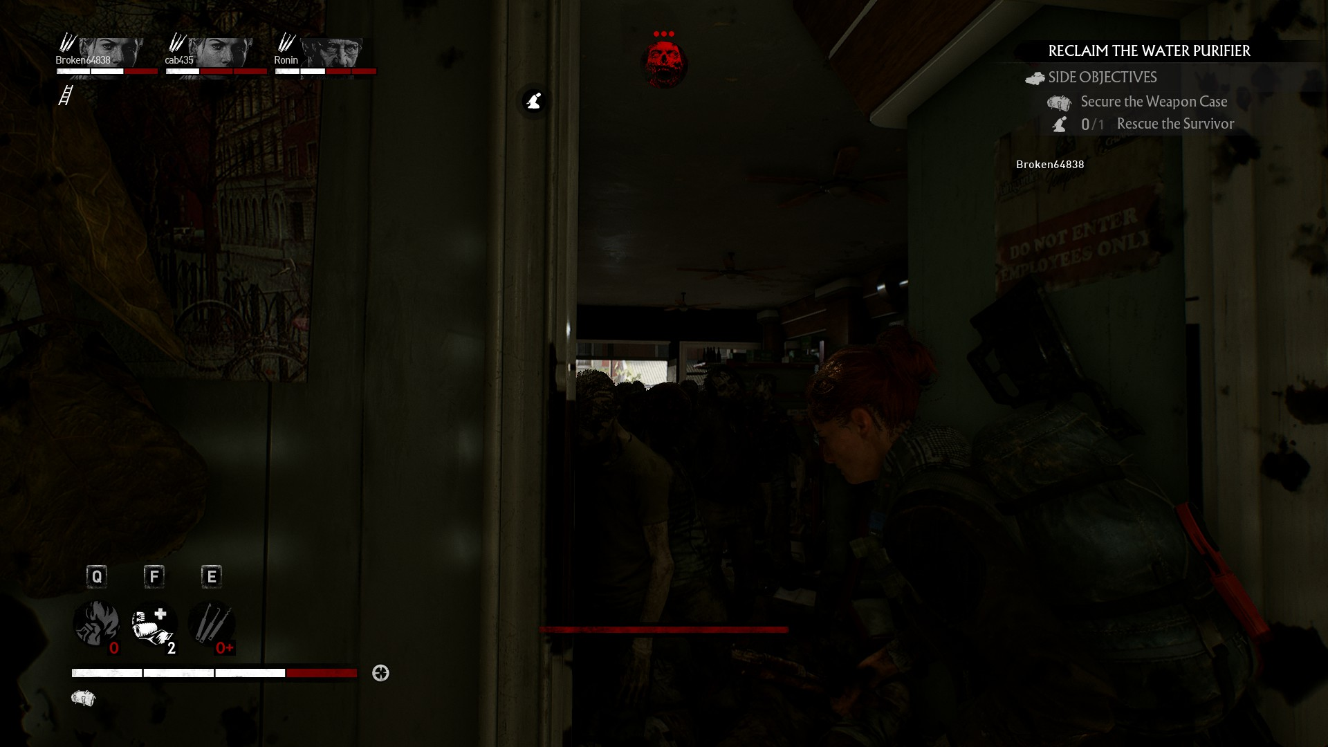 Walking into a doorway only to see dozens of zombies blocking it is quite something.