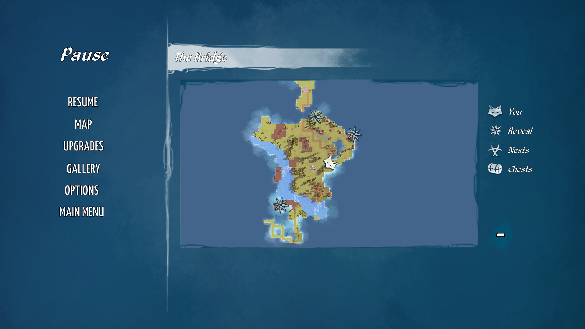 Even though the map started out small, it grew over time to where the map by the end is rather massive.
