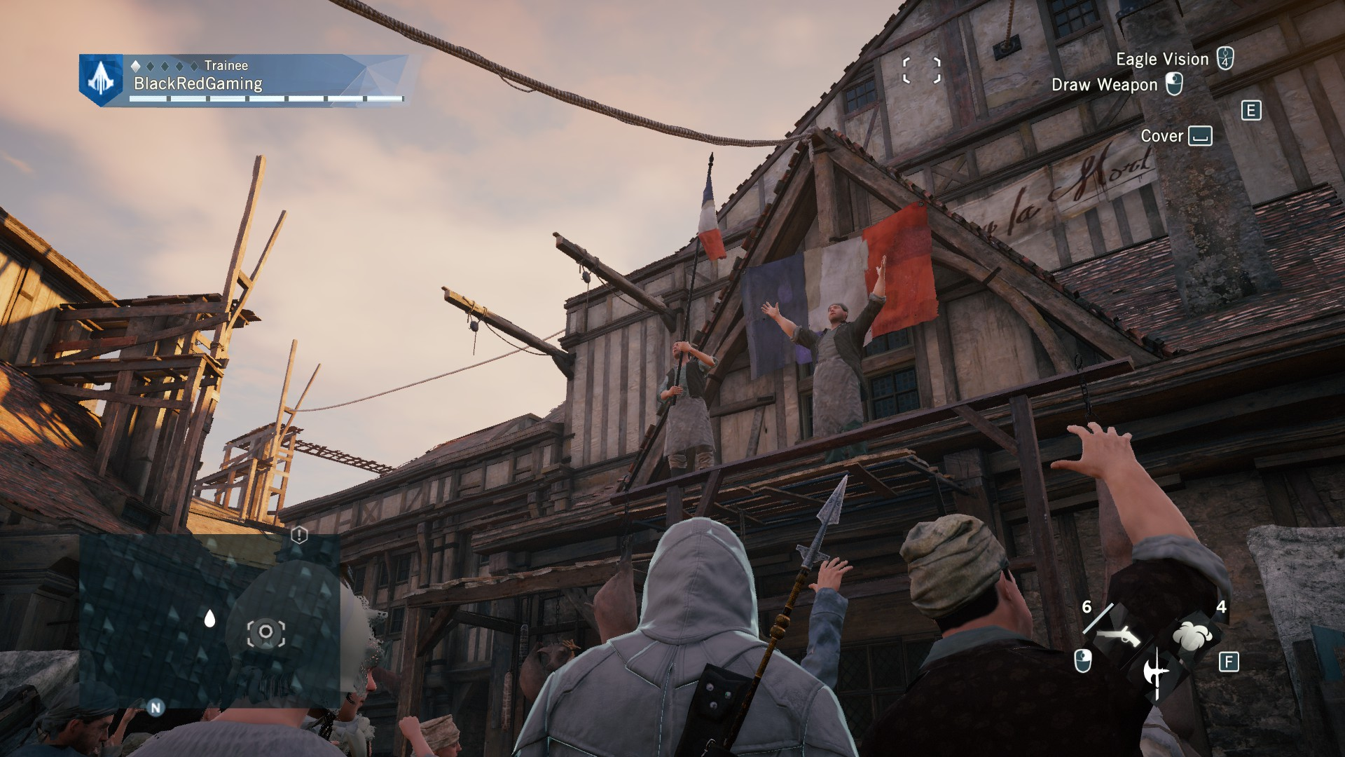 The NPCs in this game actually feel alive.