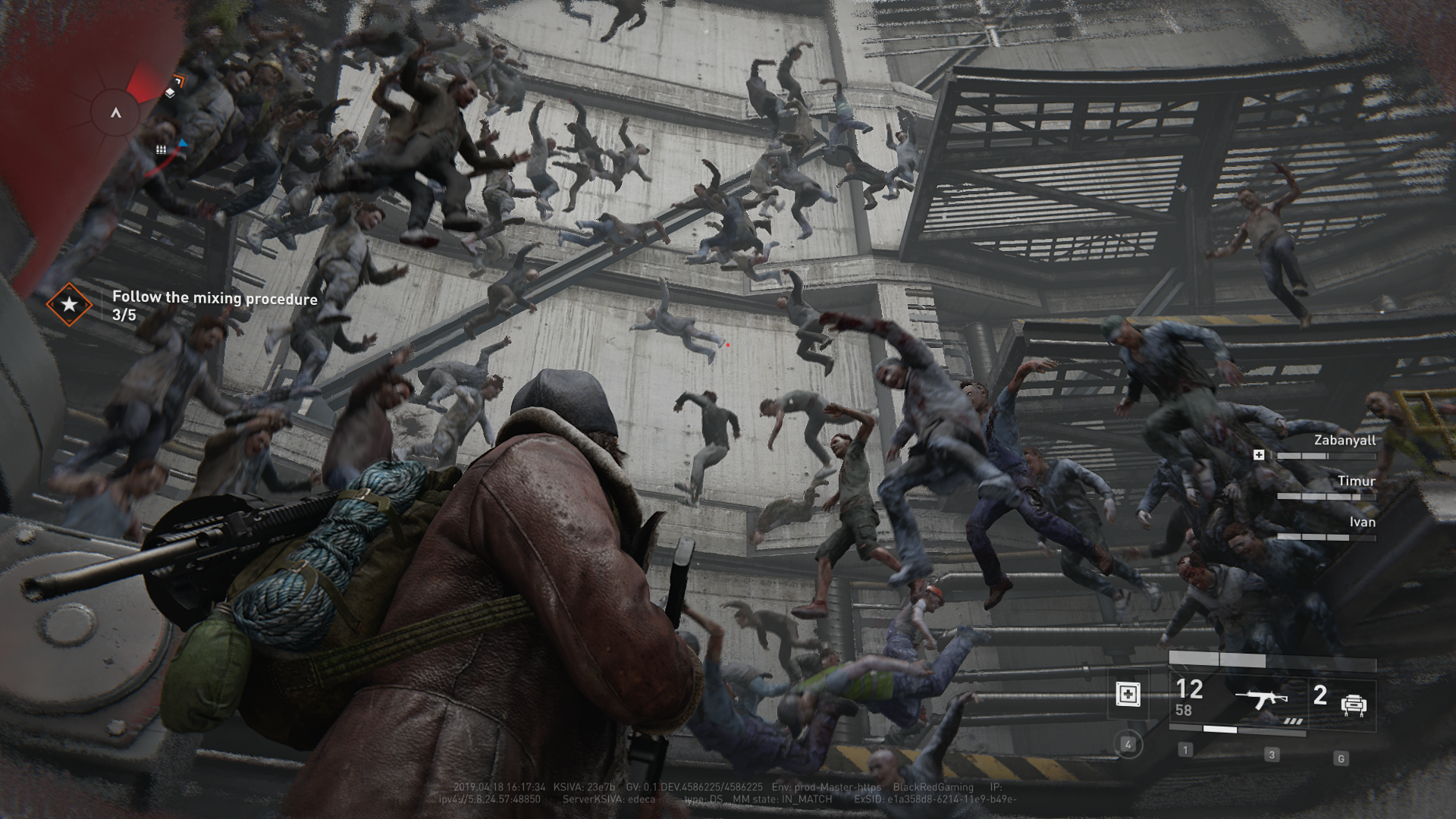 Seeing zombies rain down is still a frightening and amazing experience.