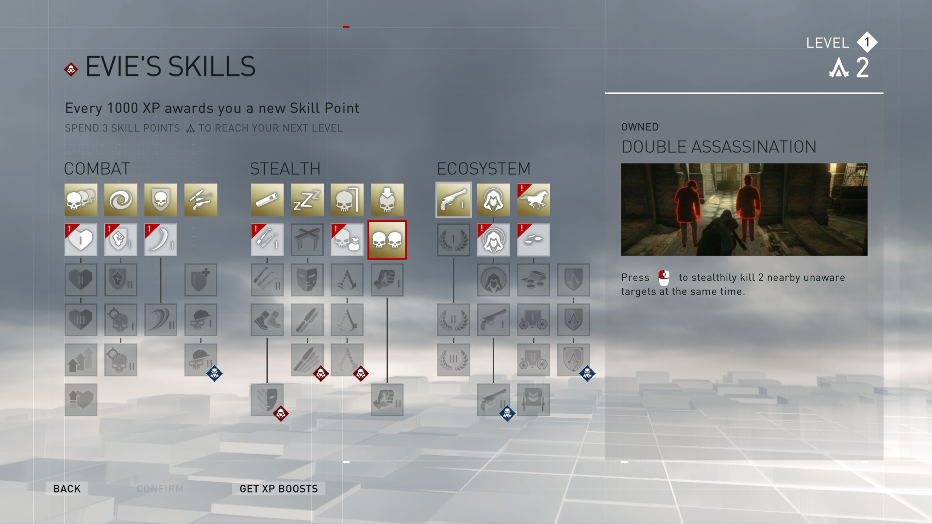 Skill trees? In  Assassin's Creed ?