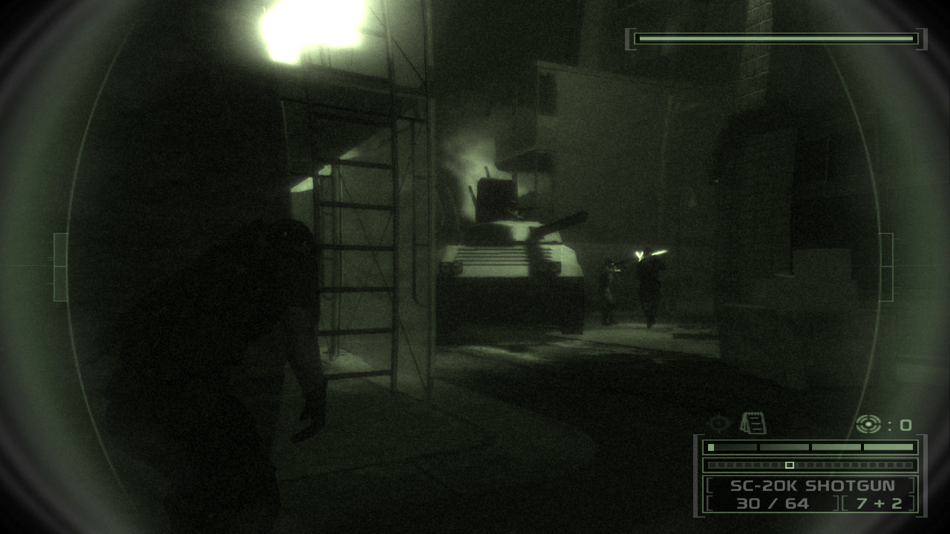 Sam Fisher may always be in the dark, but that doesn't mean he is always in the quiet.