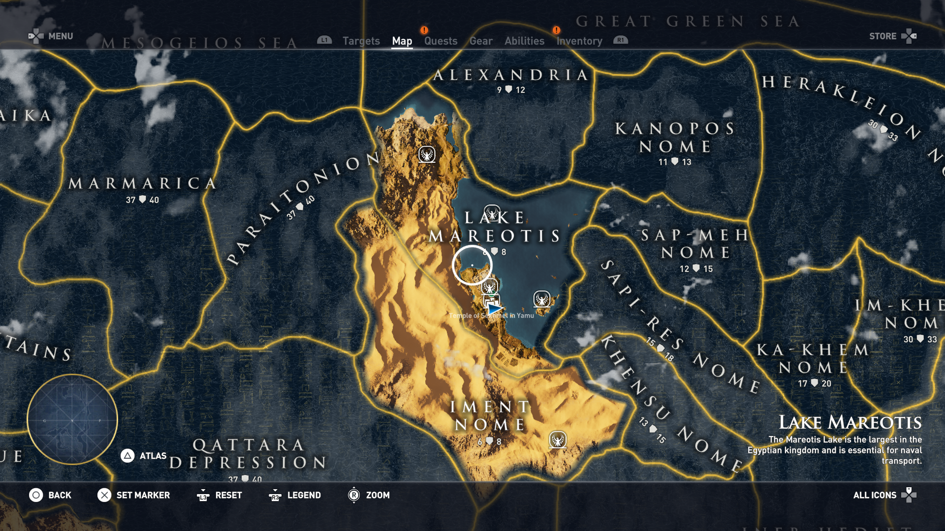 Each region has a level range, and leveling up high enough to hit some of the later regions took a long time.