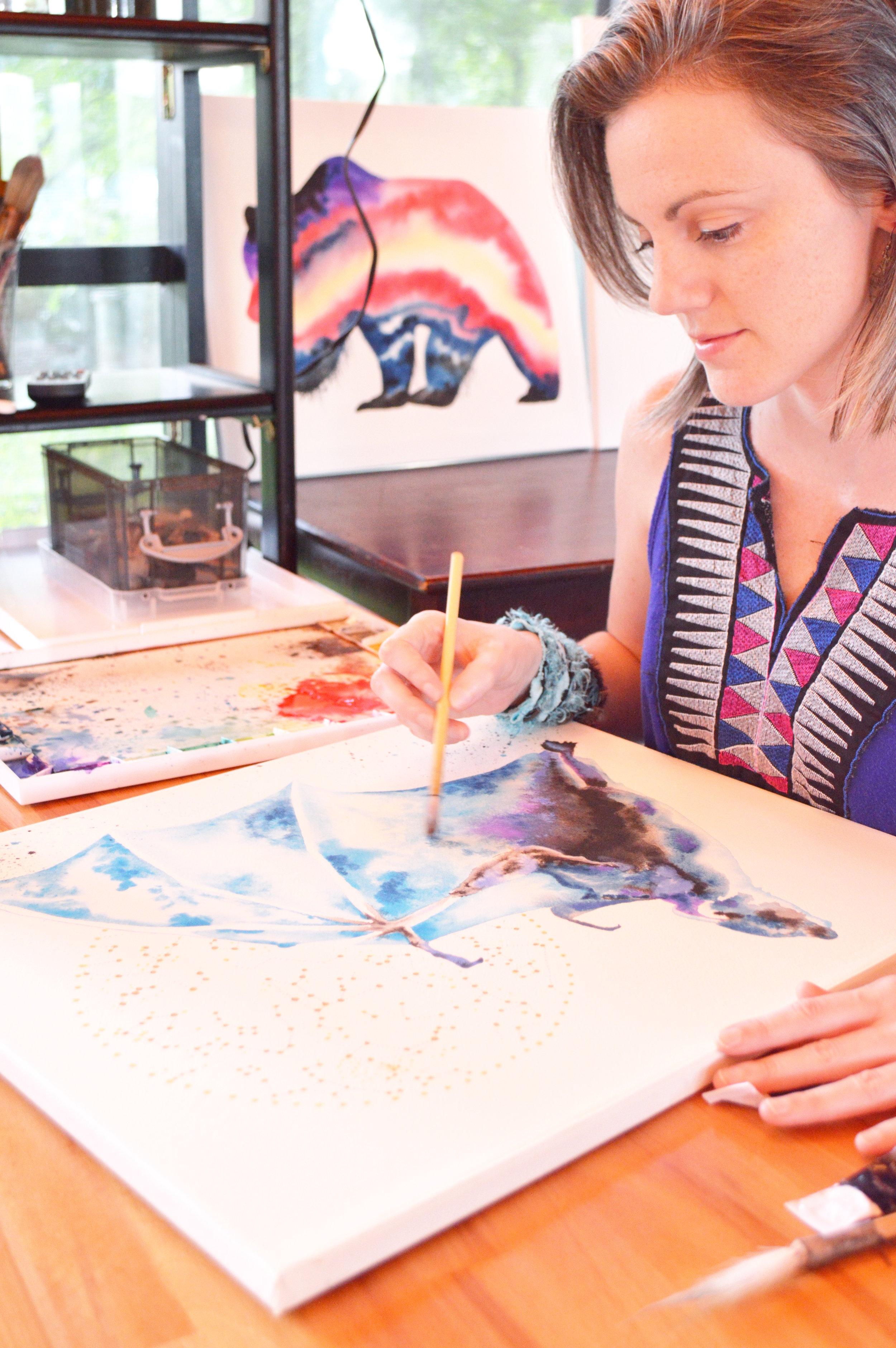Tanya Casteel - Artist, writer, intuitive seer