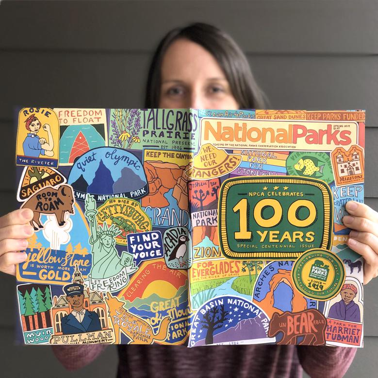 Annie Riker - Artist and designer, #100Reasonsiloveasheville