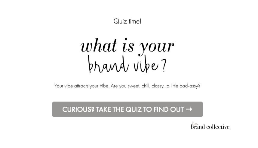 Hello Brand Collective | Brand Vibe Quiz