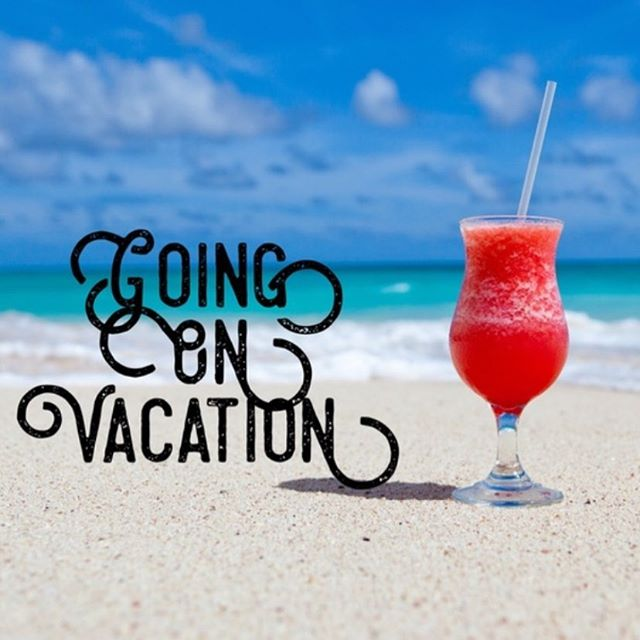 Y'all stay safe and have a good week. We are in vacay mode. 🍹