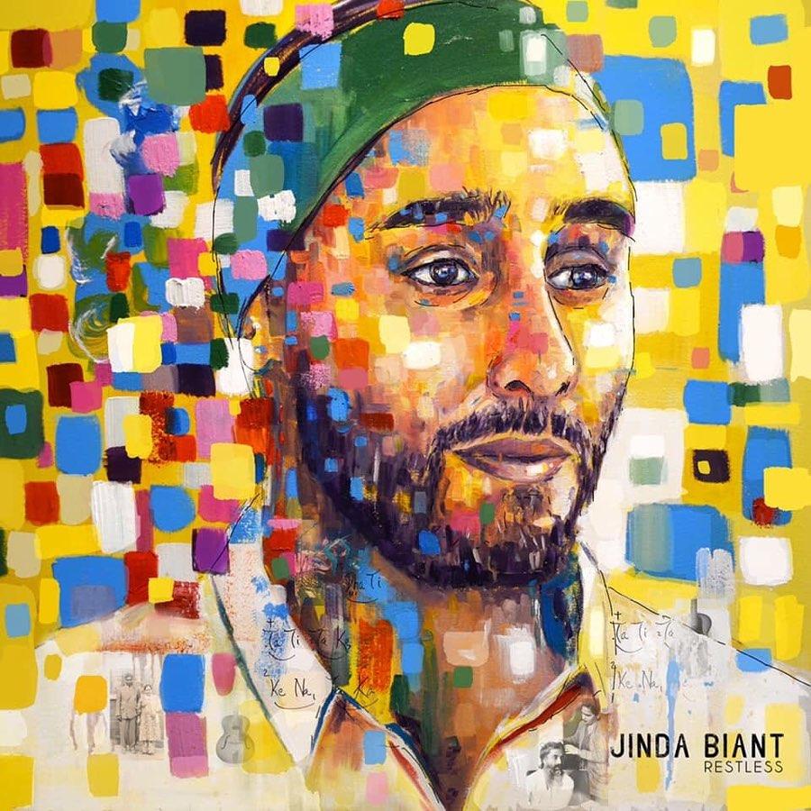 Jinda Biant- Restless Album Cover Design