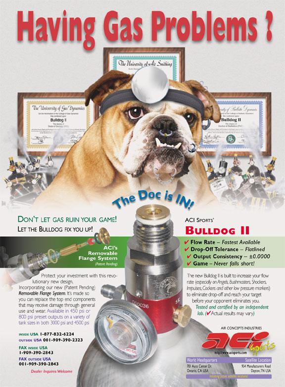 bulldog regulator