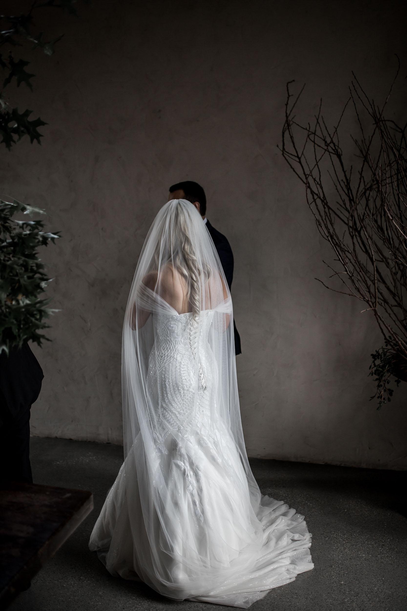 THE BRIDE - GOWN : Roz La Kelin
