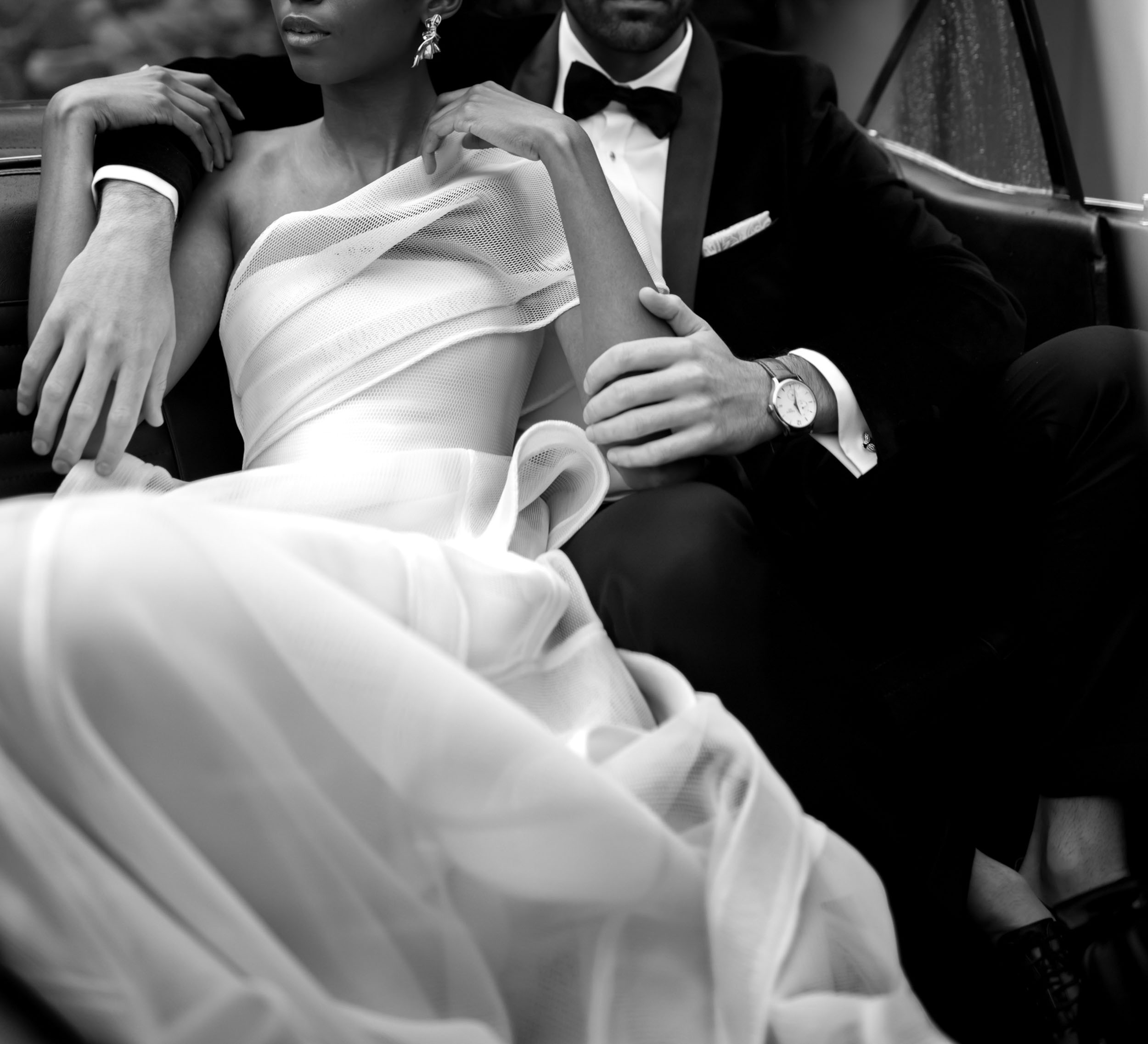 Destination Black Tie - Captivated by movement, texture, romance, the use of light and reflections to evoke emotion, the inclusion of these elements could not be compromised on.