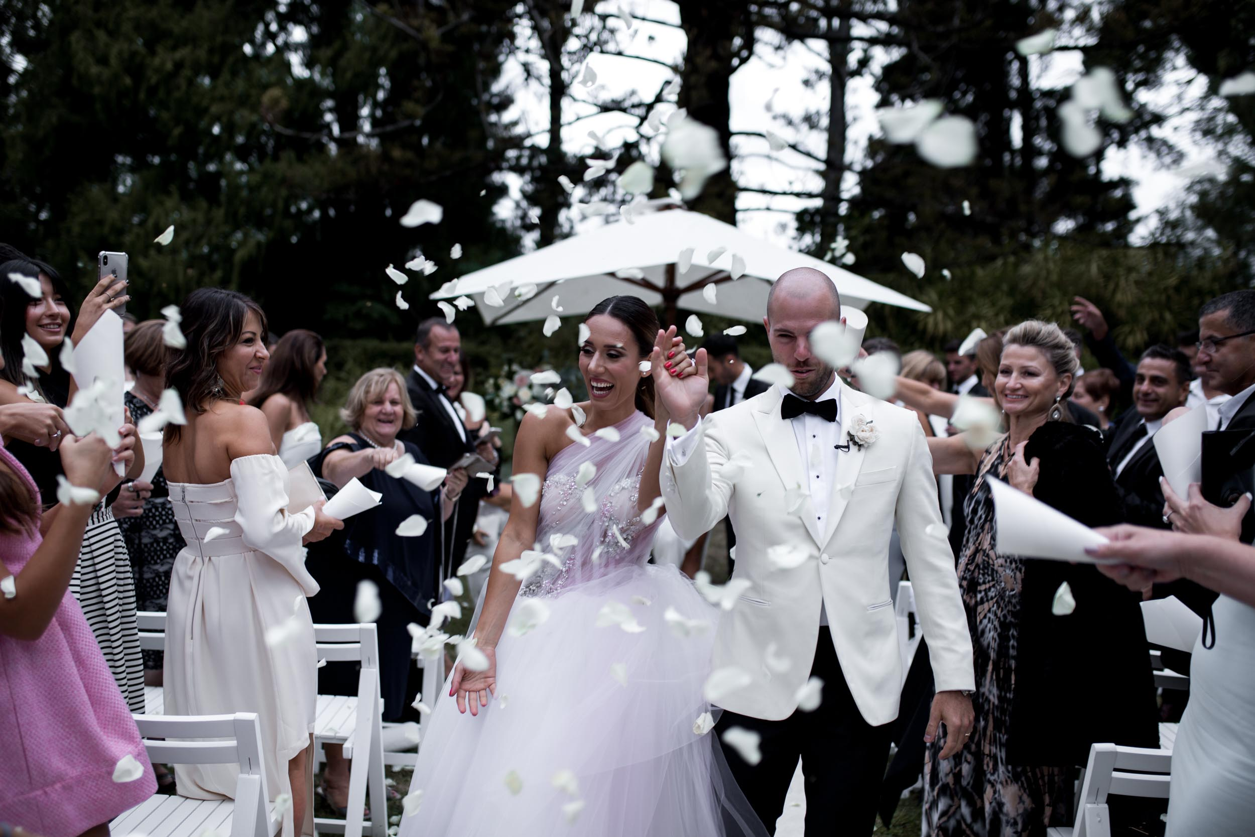Athanasia & Jonathan - Ath & Jon's Melbourne wedding was the epitome of elegance.