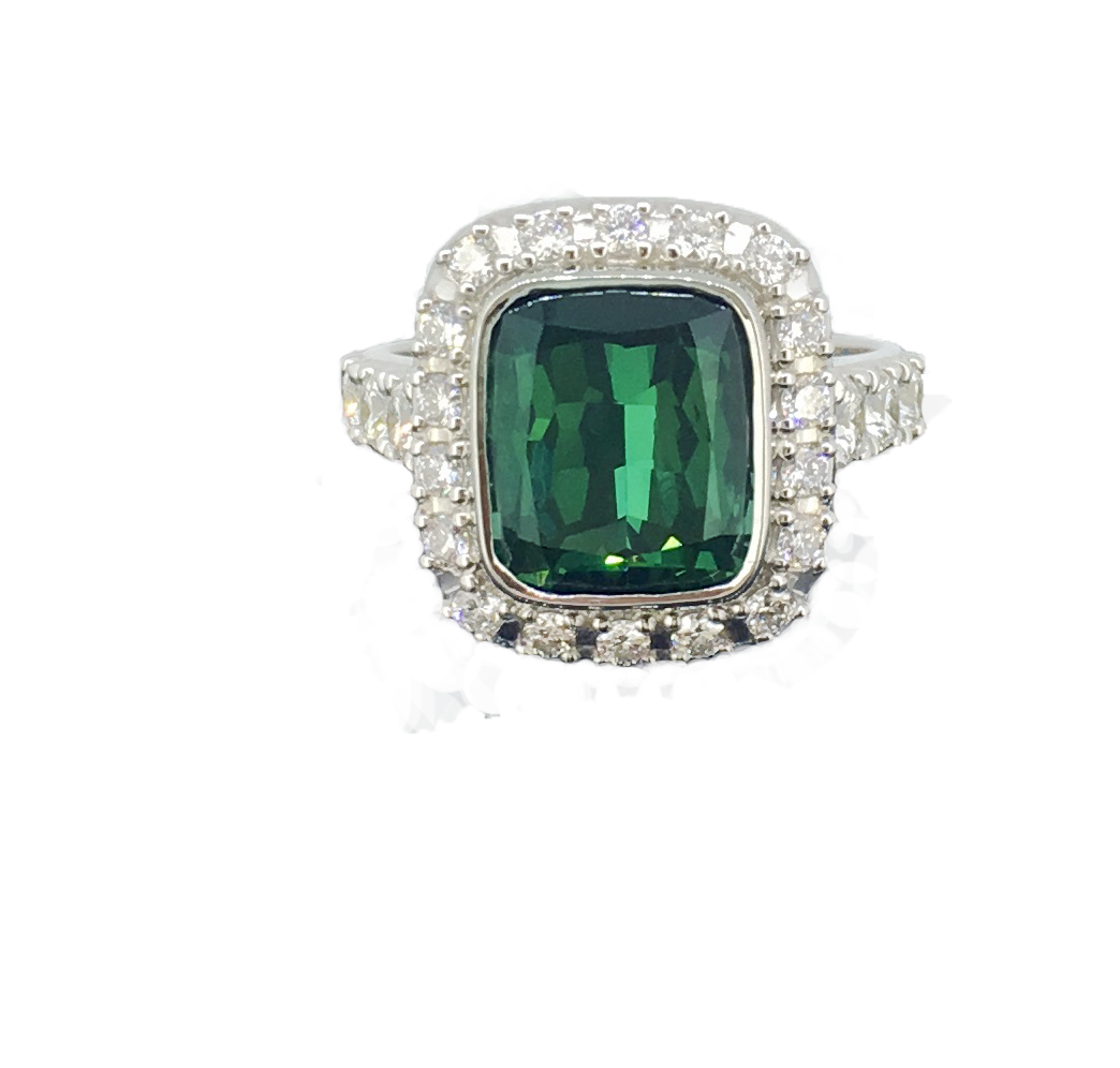 Green Tourmaline and Diamond Dress Ring - Bespoke by TORY and KO.png