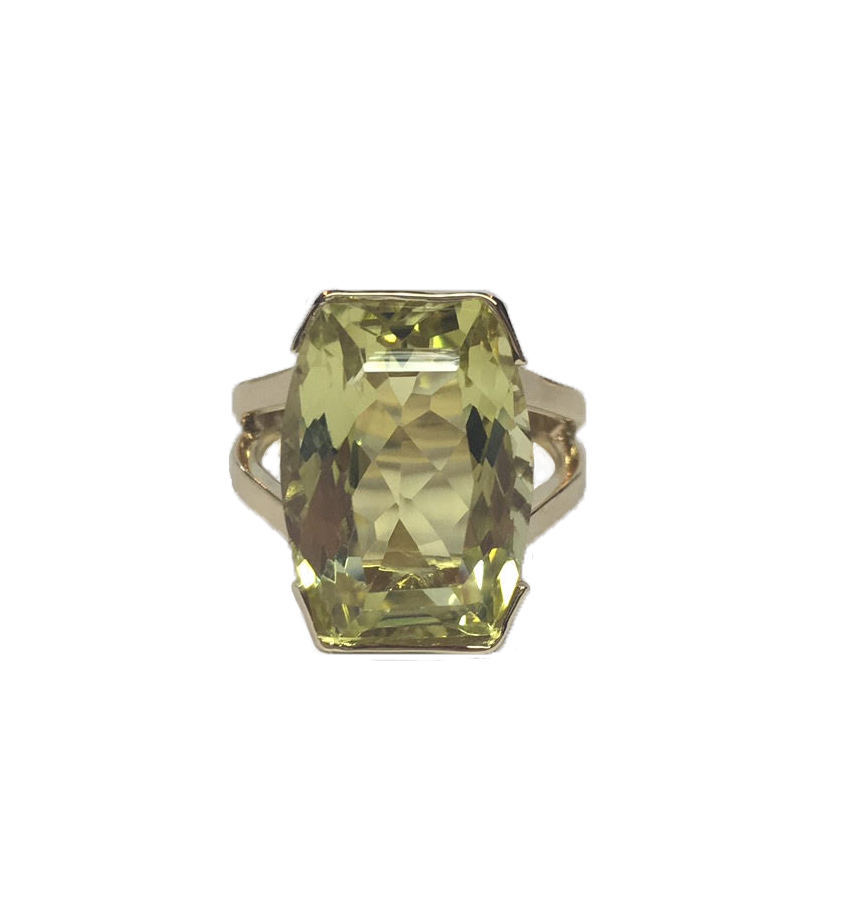 Lime Quartz and Yellow Gold Dress Ring Bespoke by TORY and KO.png