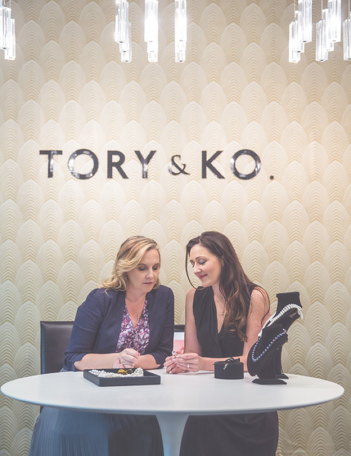 Victoria Taylor & Kirstin O'Brien - Directors of TORY & KO. Jewellers