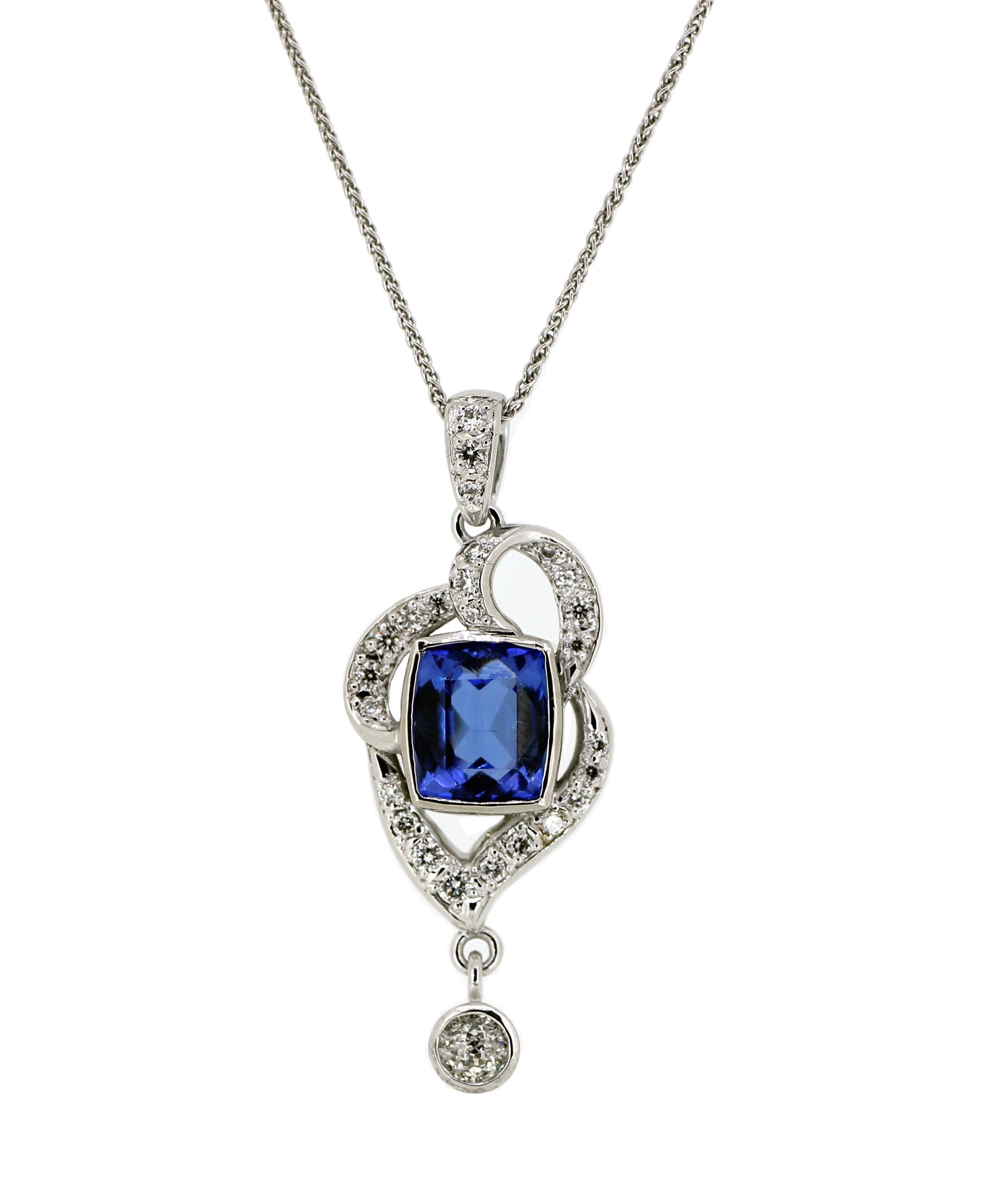 Tanzanite and Diamond Pendant.jpg