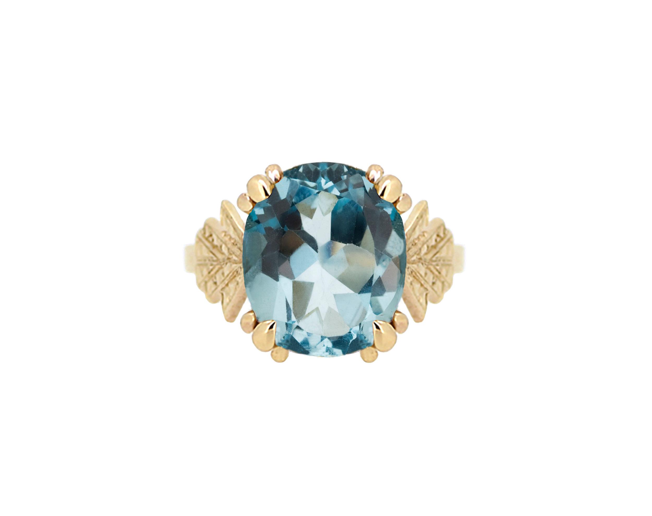 Art Deco Yellow Gold Blue Topaz Ring.jpg