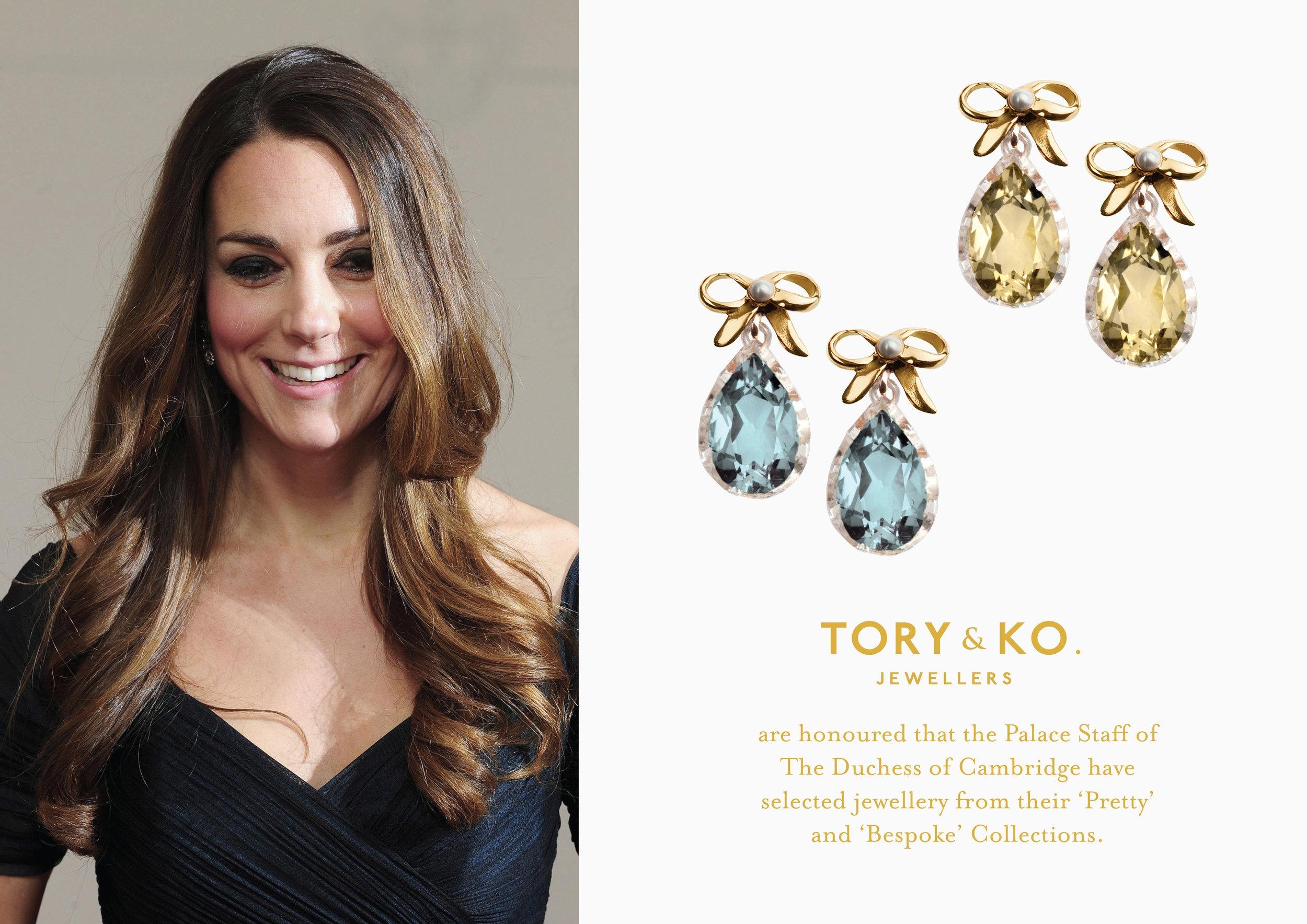 Kate Middleton Poster TORY & KO and KO Pretty Collection.jpg