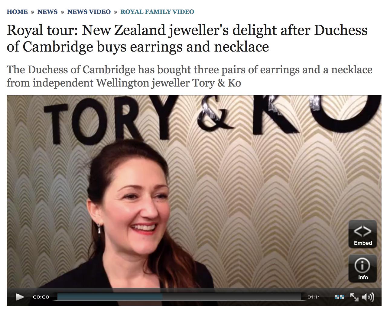 Telegraph UK - http://bit.ly/TORYandKOTelegraphUK