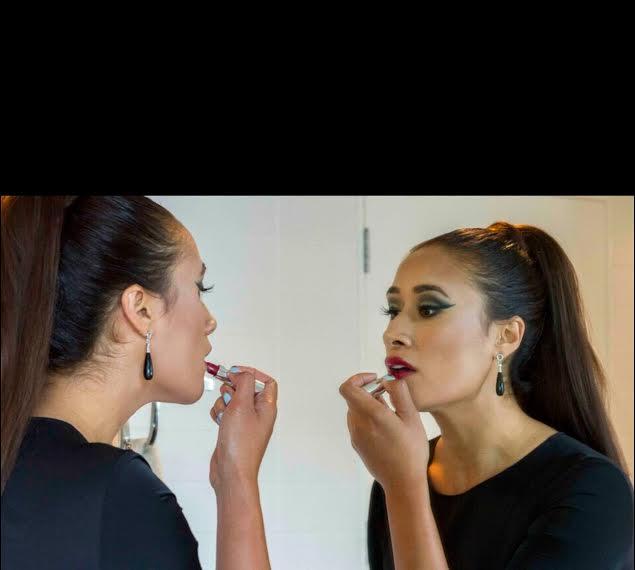 Maria Tutaia wearing TORY and KO Black Onyx and Diamond Earrings.jpg