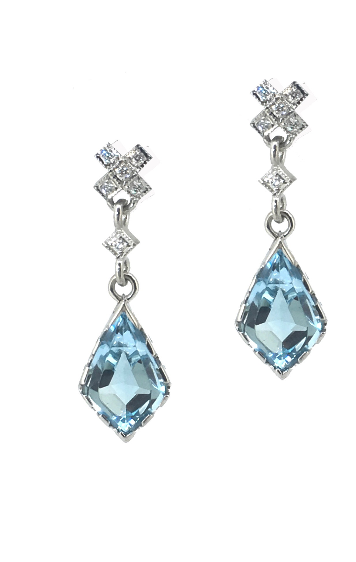Blue Topaz & Diamond Earrings.JPG