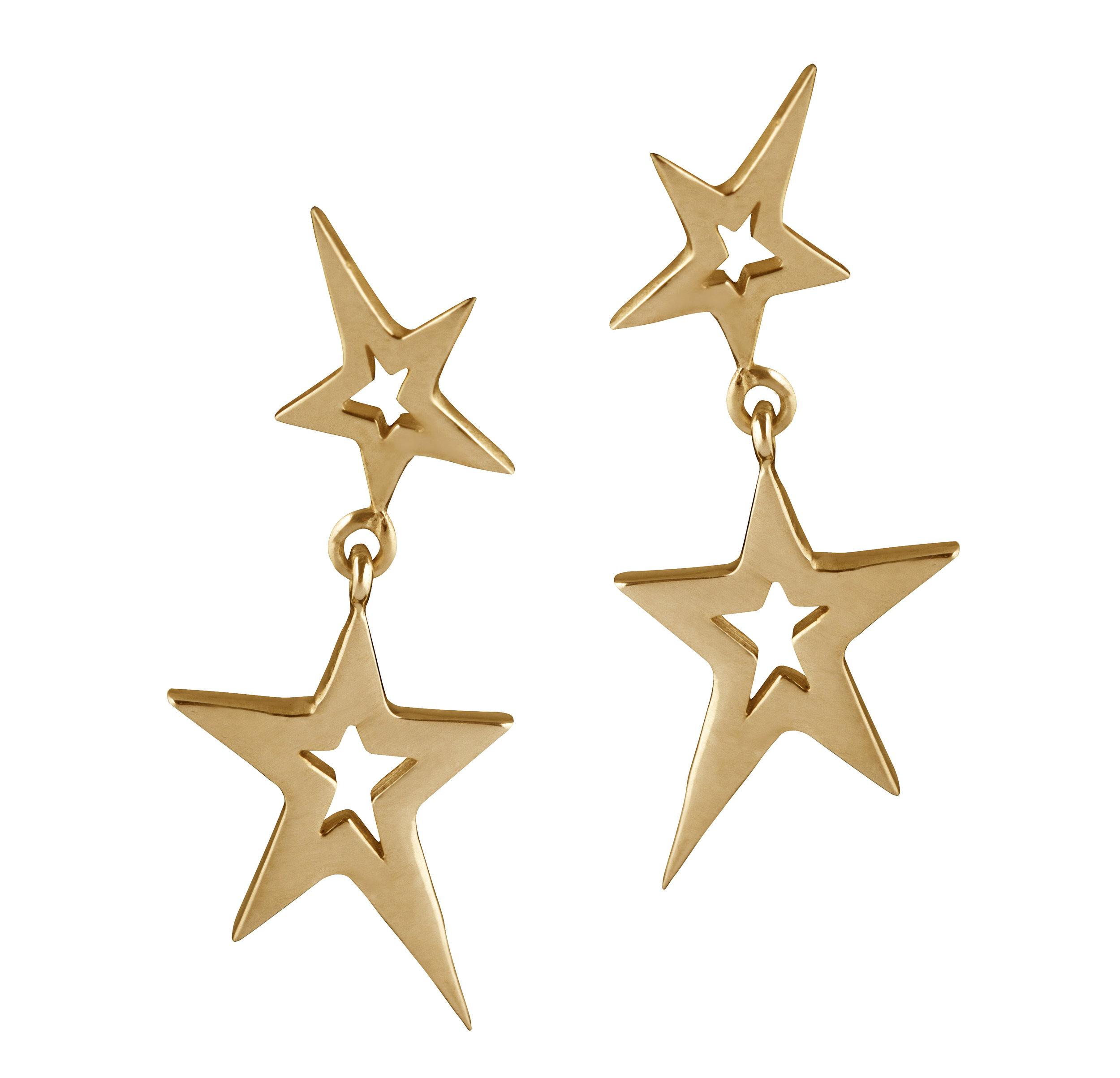 Swinging Star Earrings (Gold).jpg