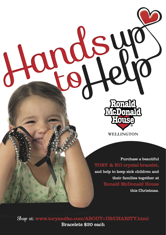 Ronald McDonald Hands up to Help Poster.jpg