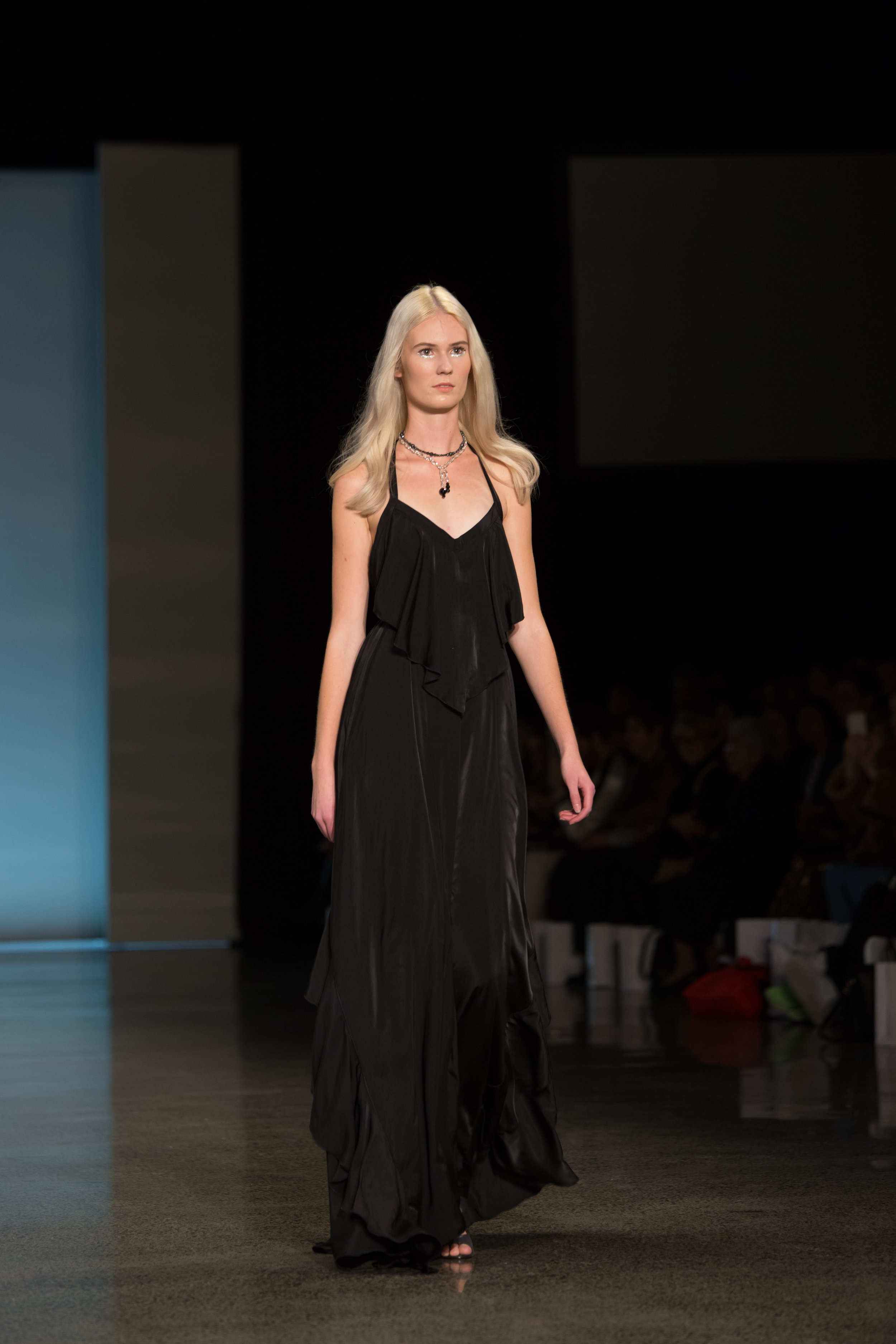 """NZ Fashion Week Runway Show ROCHELLE - TORY & KO. created a Limited Edition line of jewellery called """"Meteorite"""" as part of their Stella by TORY & KO. Collection. This was launched on the Runway at the ROCHELLE Show on closing night at NZ Fashion Week."""