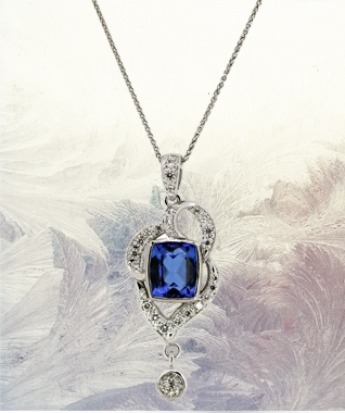 Fine Jewellery Tanzanite and Diamond Necklace.jpg