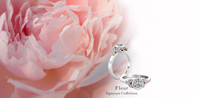 Fleur Engagement Ring