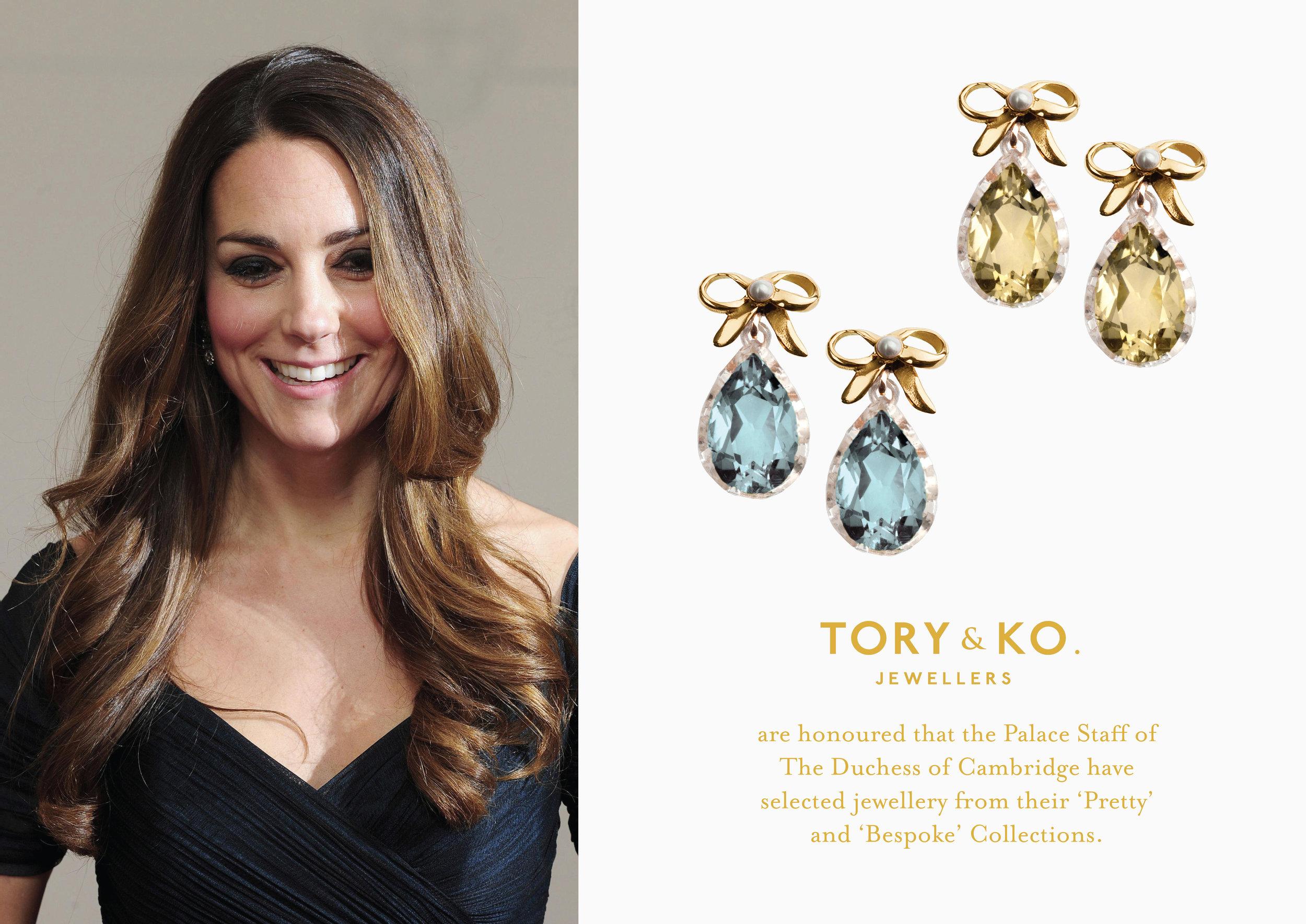 HRH Duchess of Cambridge Kate Middleton TORY & KO Pretty Collection earrings.jpg
