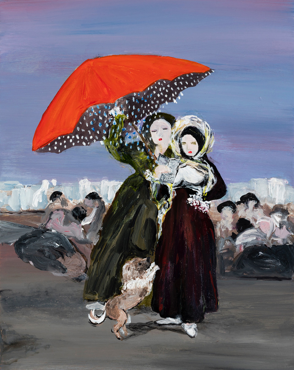 Family Matters 14 (after Francisco Goya)